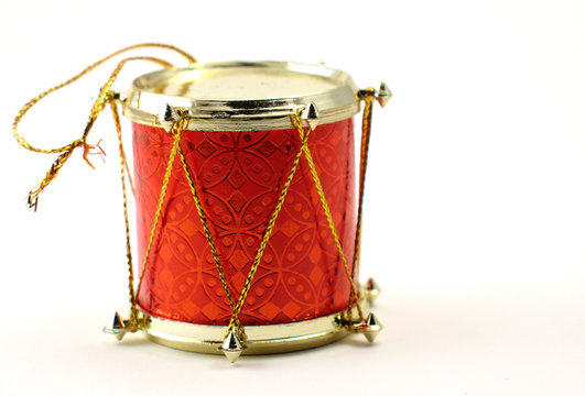 christmas ornament drum