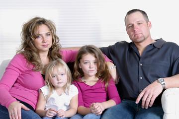 serious family