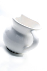 white jar