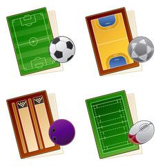 "design elements 49a. ""sportfields icon set"""