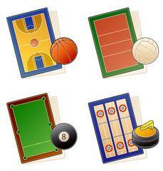 design elements 49. playgrounds icons setdesign elements 49. des