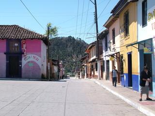 vers l'église de guadalupe