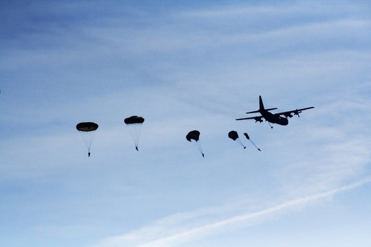 airborne dropping