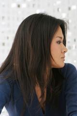 japanese woman posing