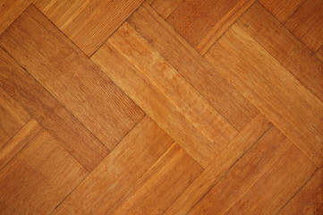 Obraz polished wood pattern - can be used as background - fototapety do salonu
