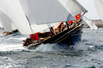 in regata