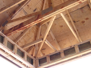 eave and soffit framing