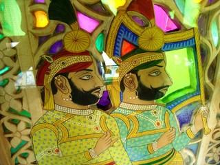 Keuken foto achterwand India india art