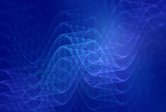 blue wavelengths background