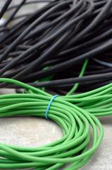 rouleaux de câbles