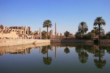 karnak - tempel des amun re - ägypten