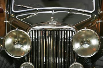 Aluminium Prints Old cars schwarzer oldtimer