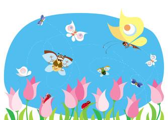 spring bugs