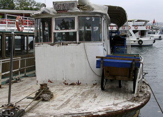 old fishing vessel