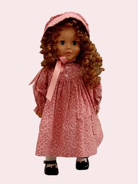 doll in old fashioned attire