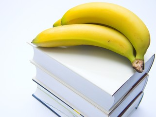 books and bananas