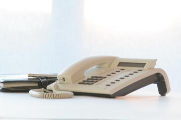telefon und terminplaner
