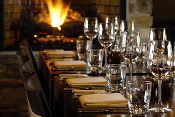 In de dag Restaurant restaurant ready