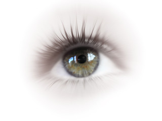yeux rosé