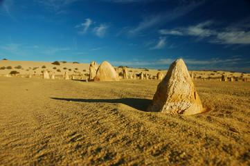 sandstone pinnacles in nambung np, wa