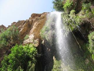 cascade d'eau en israel
