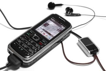 gsm phone & handsfree