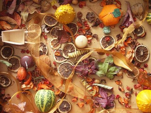 composition d'automne