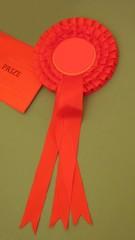 rosette. award. prize