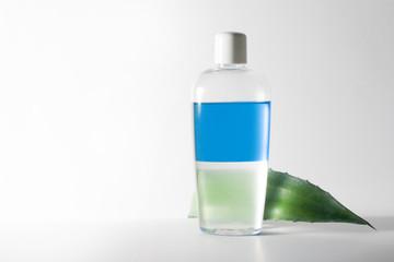 flasche mit flüssigkeit