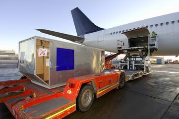 loading aircraft