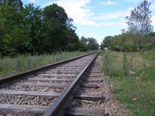 rieles de tren