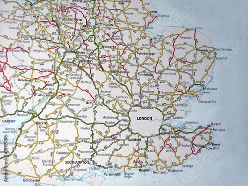 mapukunited kingdom road map londoncities