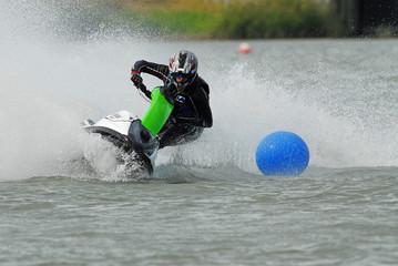 Printed roller blinds Water Motor sports jetski