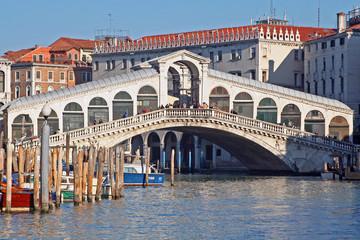Obraz rialto bridge - fototapety do salonu