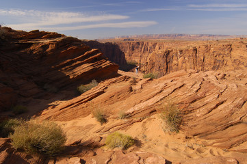 photographing glen canyon