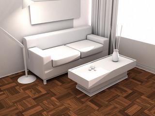 interior house - parquet