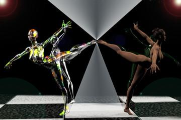 la danza abstracta
