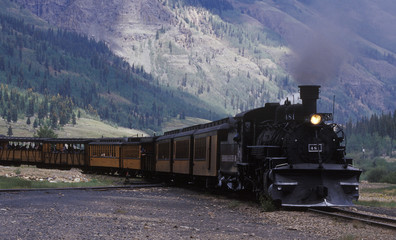 silverton - durango narrow gauge