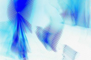 hypnotic blue background