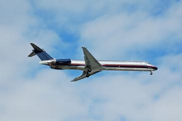 mcdonnell douglas dc-9 jet airplane