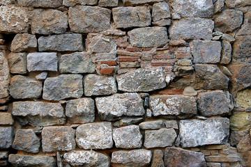 muro de adoquines