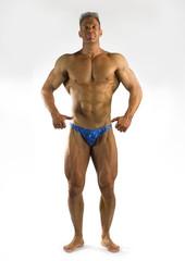 cliche bodybuilding pose