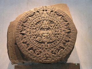 aztec calendar in mexico city