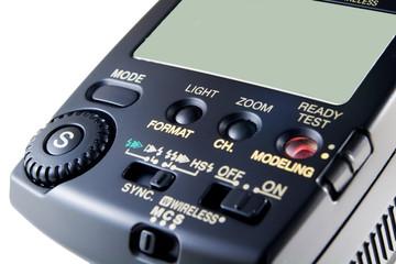 photo flash controls