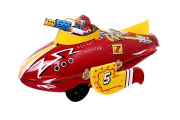 vintage airplane toy