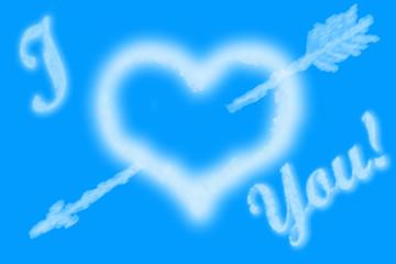 "inscription "" i love you! """