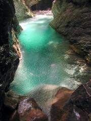 Foto auf AluDibond Schlucht canyon de la barbera