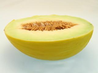 honigmelone halbiert