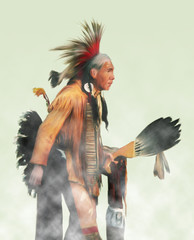 """shaman elder"" painting"