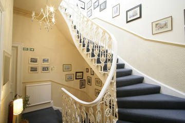 Photo on textile frame Stairs stairs